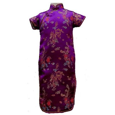 Robe Chinoise Violette