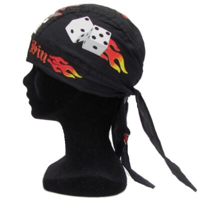 Bandana Casquette Pirate Noir Boutique France