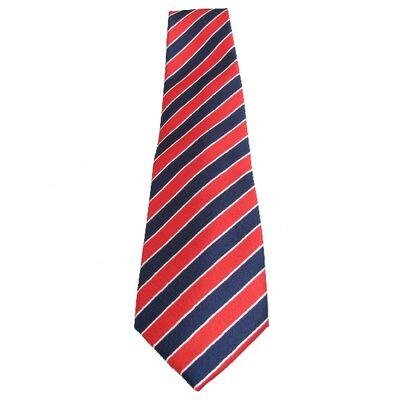 Cravate Rouge Bleu