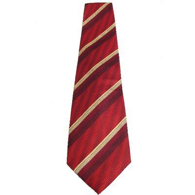 Cravate Rouge Port Bonheur Chance