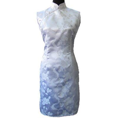 Robe de Mariage en Soie Manche  Dargon Phenix Traditionnel