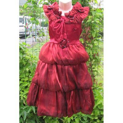 Robe Rouge Bonheur