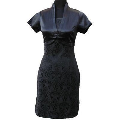 Robe Tunique Courte Noir