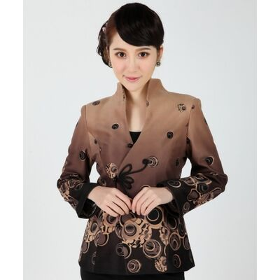 Veste Chinoise Manche Longue Coton