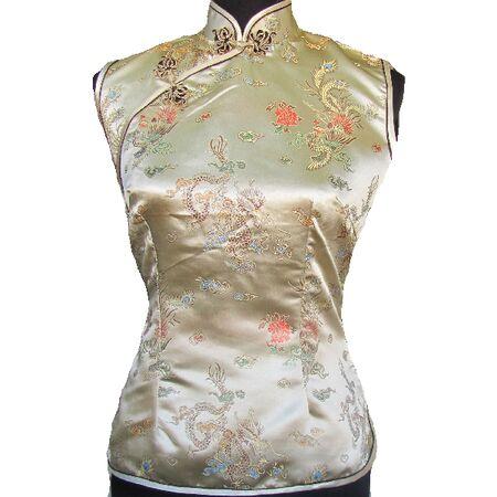 Chemise Chinoise Dore