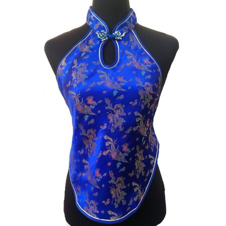 Bustier Dos Nu Soiree Chinois